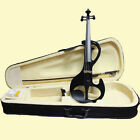 NAOMI 4/4 Full Size Solid Wood Electric Violin 4/4 Electric Violin Silent Violin