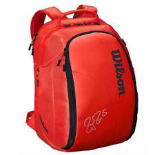 Wilson Roger Federer DNA Tennis Backpack Red Gym//Badminton//Squash WRZ-830896