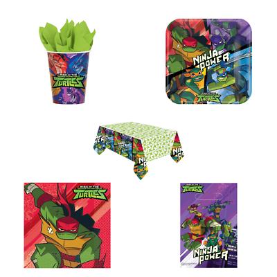 Teenage Mutant Ninja Turtles Birthday Party Plastic Tablecover 1.2 x 1.8m
