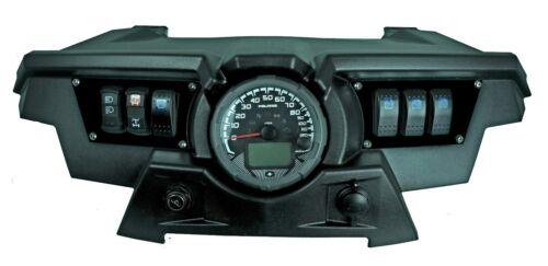 4 Free Laser Etched Switches 2015 Polaris RZR XP 1000 Custom Black Dash Plate