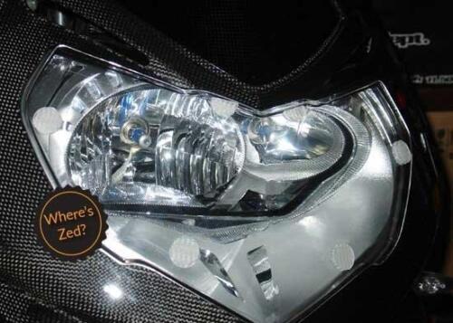 Motorcycle Headlight Protector Light Guard Kit 2008-2011 BMW HP2 Sport