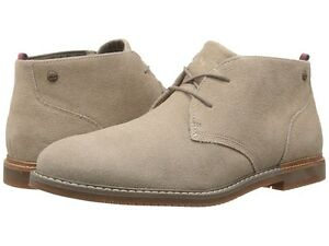 TIMBERLAND-BROOK-PARK-LEATHER-CHUKKA-SHOES-MENS-BROWN-SMOOTH-CREAM