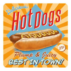 Hot-Dogs-American-Diner-Style-Retro-Hotdogs-Drinks-Table-Coaster
