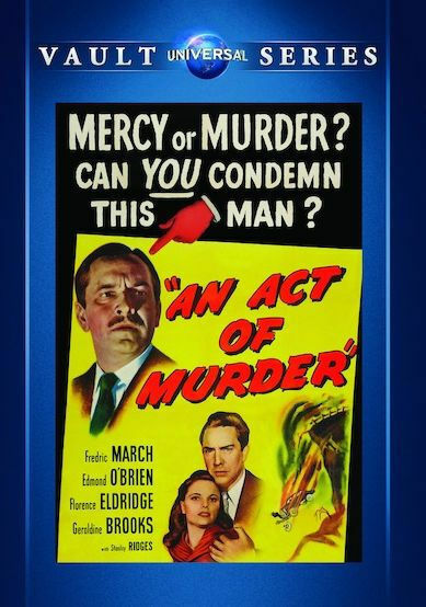 AN ACT OF MURDER (Fredric March) - DVD - Sans Zonage - Scellé