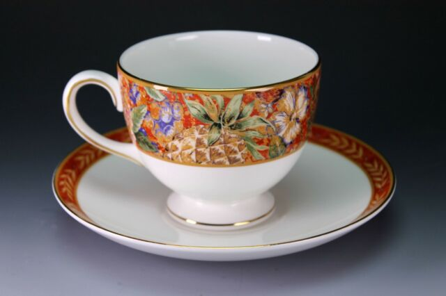 Wedgwood China Augustus Cup and Saucer