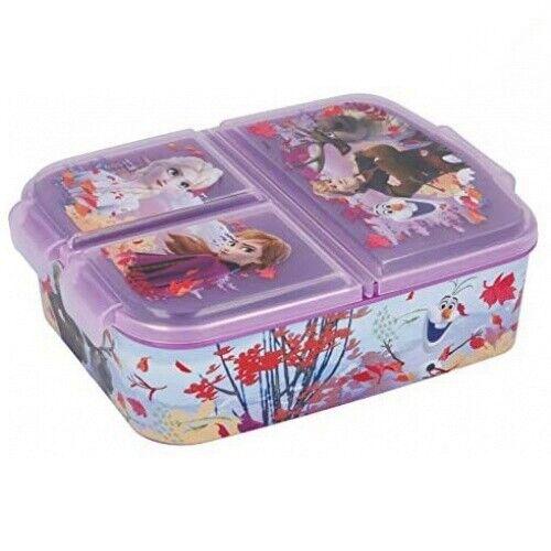 Disney Frozen II Kids girls and boys Lunch sandwich box Bento