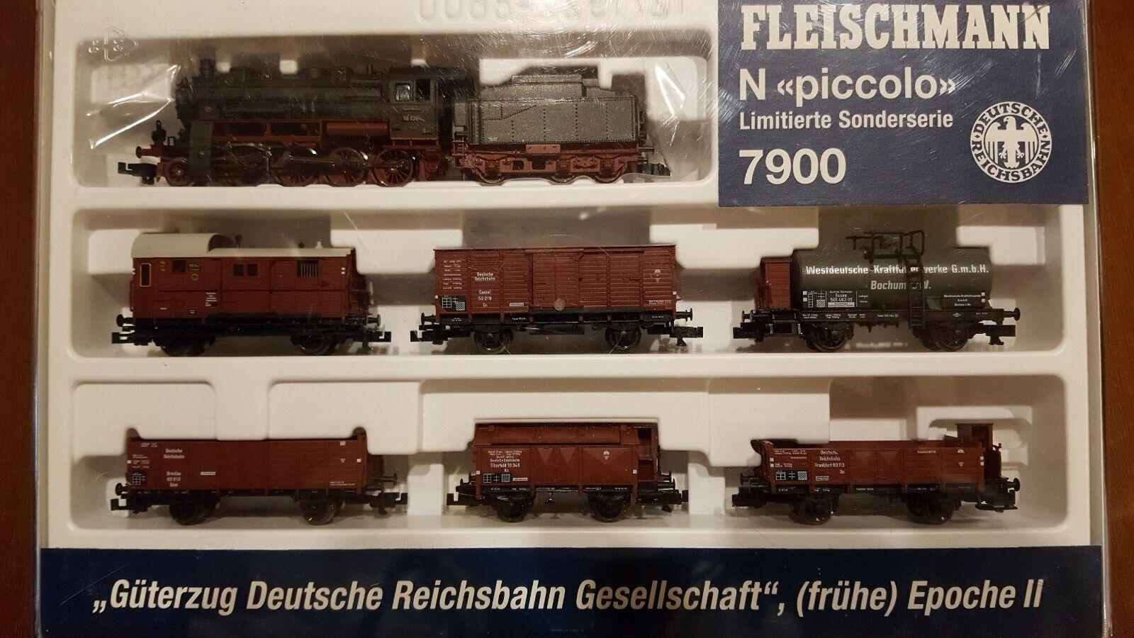 Fleischmann 7900  piccolo  Spur N Güterzug DRG