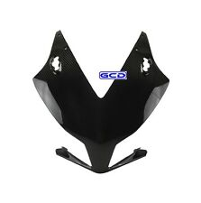 Honda CBR1000RR Upper Front Nose Mask Fairing Cowling 100% Twill Carbon Fiber