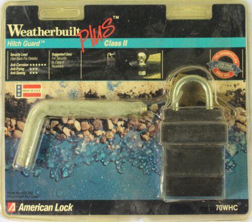 NEW American Lock Weatherbuilt Plus Hitch Guard Class II 70THC