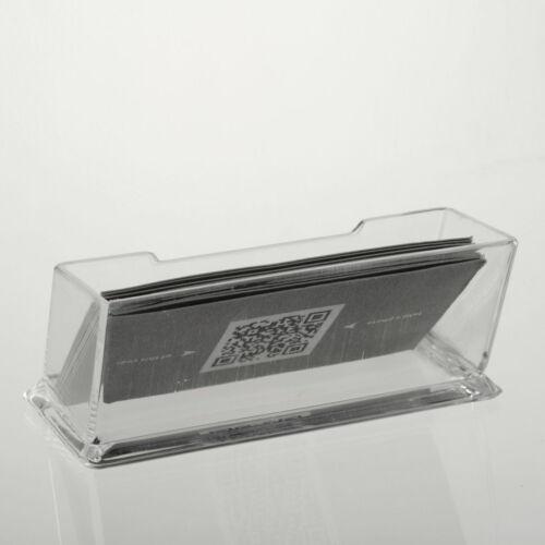 Desktop-Visitenkartenhalter-Ausstellungsstand Acryl-Kunststoff-Schreibtisch  CN