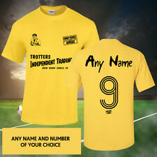 ONLY FOOLS AND HORSES PERSONALISED FOOTBALL T-SHIRT (ALL SIZES AVAILABLE) UK