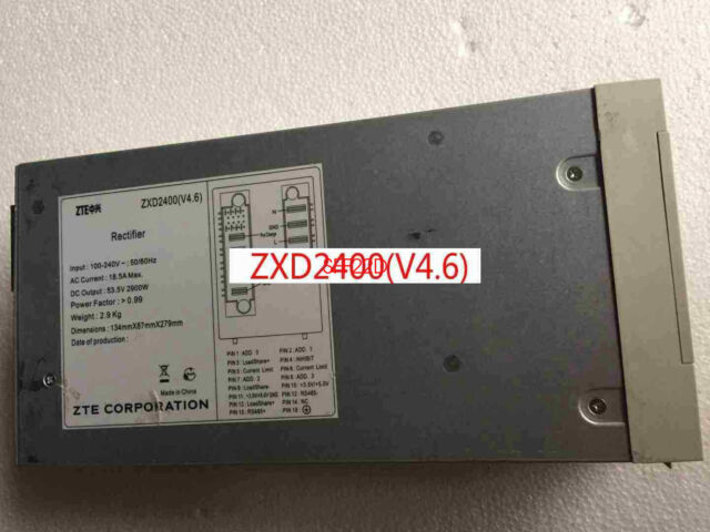 1 PC Used ZTE Communication Power Supply ZXD2400 2400W