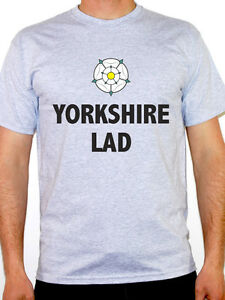 6902fb38 Image is loading Yorkshire-Lad-T-Shirt-Funny-Yorkshire-Yorkshire-Humour-