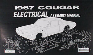 1967 mercury cougar electrical assembly manual best wiring rh ebay com 1968 cougar wiring diagram Ford Alternator Wiring Diagram