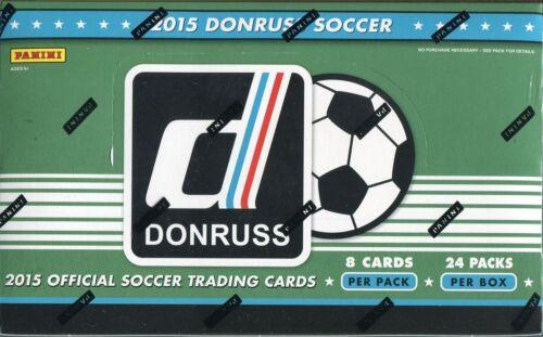 DONRUSS Soccer 2015 Factory Sealed Hobby Box