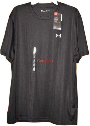 Men/'s Under Armour Tech Short Sleeve Shirt Black #1270502    Choose Your Size