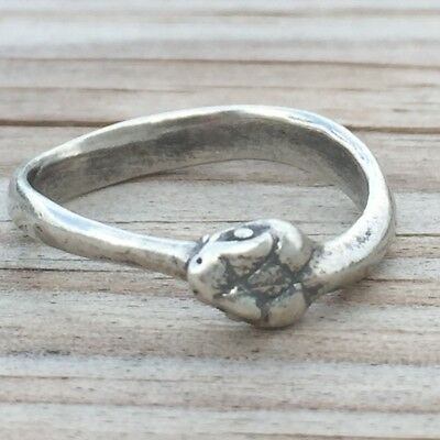 Ouroborus  Serpent   Ring  ! 925 Brand  New  !! Sterling  Silver