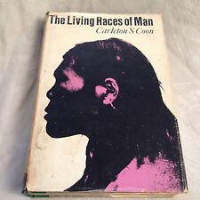 Carleton S Coon - The Living Races of Man - 1st/1st UK 1966 in Original Jacket