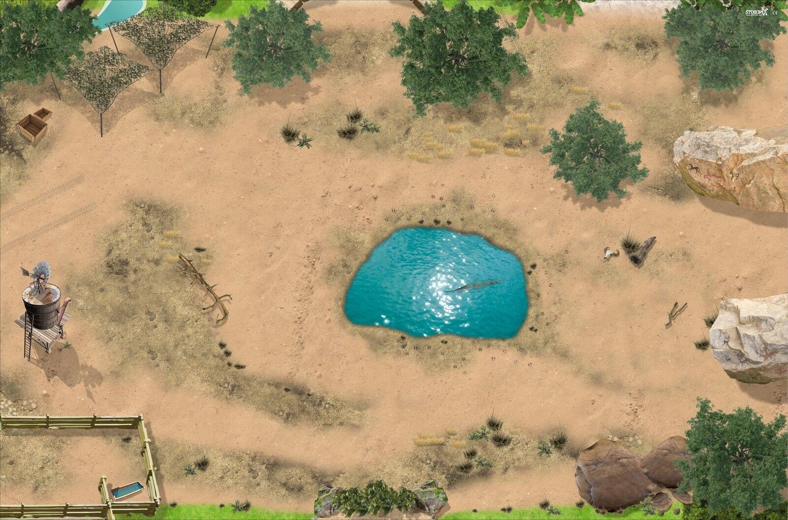 Serengeti SM08 Spielmatte / Spielteppich - ca. 150 x 100 cm