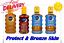 NIVEA-SUN-PROTECT-amp-BRONZE-OLIO-SPRAY-SPF-6-20-30-bronzatura-Tan-Pelle-200-ML miniatura 1