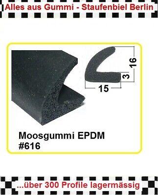 Diskret 1m Muster Gummidichtung Moosgummi Türdichtung 616 Aus Berlin