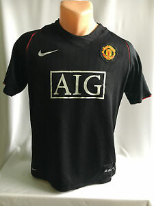 7ad6999f0 Image is loading Manchester-United-2007-2008-Nike-football-shirt-jersey-