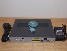 CISCO C887VA-W-E-K9  VDSL2/ADSL2+ over POTS 802.11n ETSI Compliant Router
