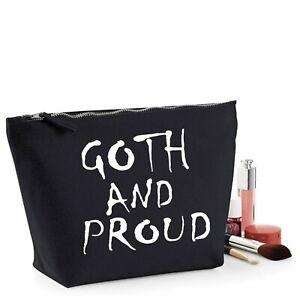 Готика, гот смешной подарок женский макияж сумка для аксессуаров