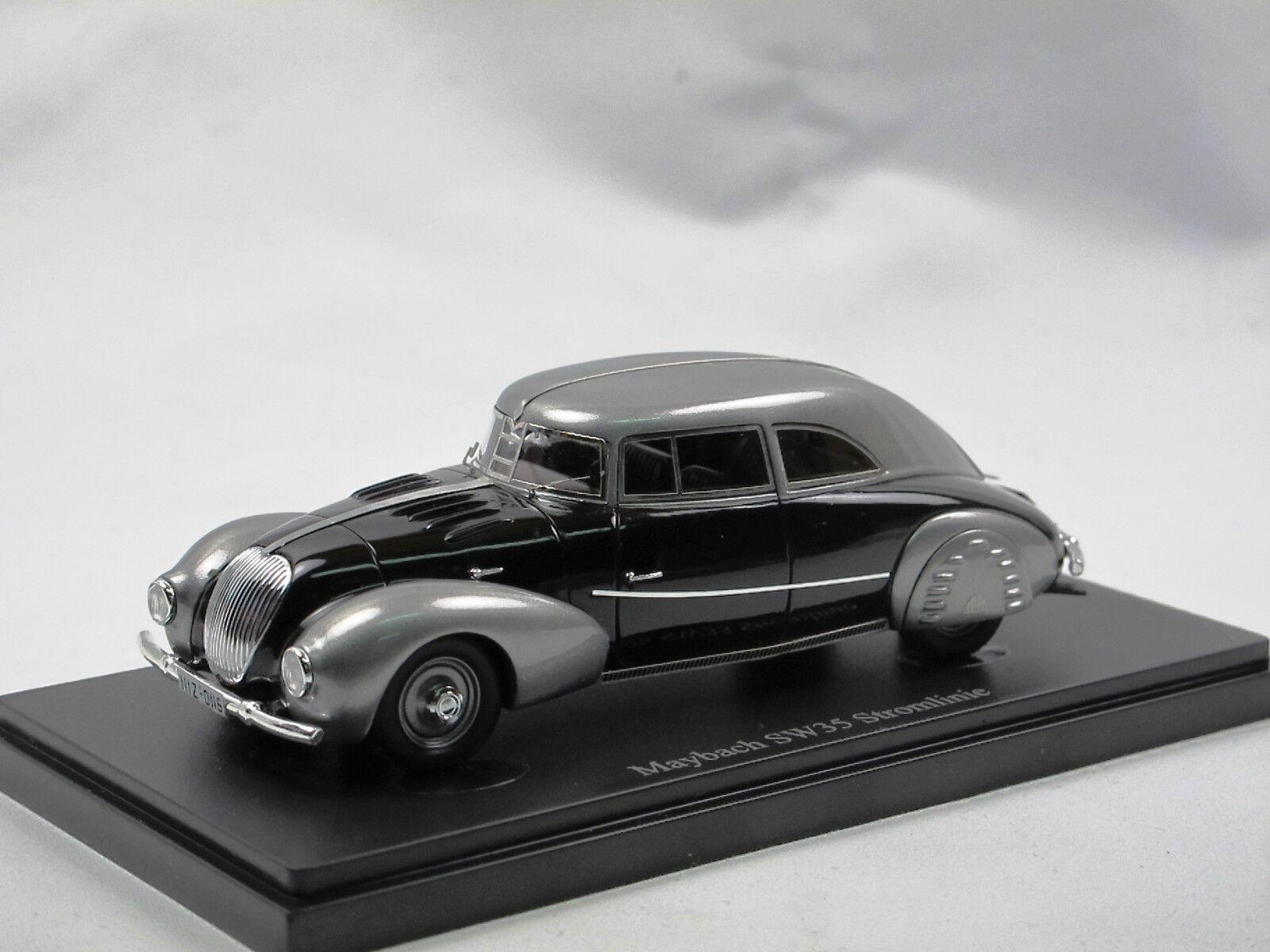 Autocult 04008 - 1935 maybach sw 35 stromlinie karosserie spohn 1   43