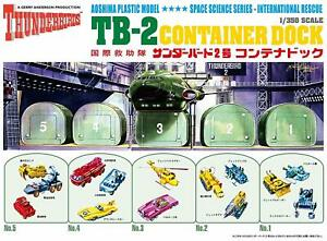 Gerry Anderson Thunderbirds TB-2 Container Dock 1/350 scale kit Aoshima