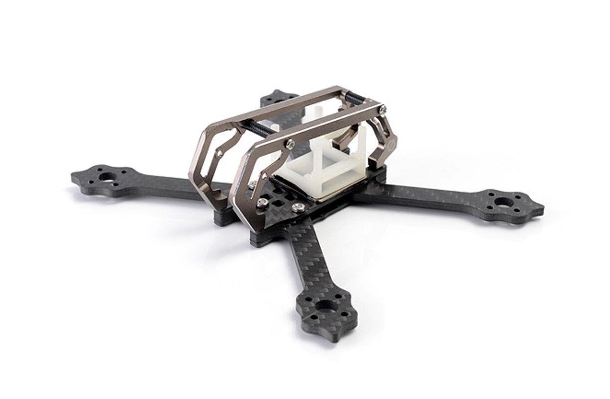 DT 2018 GT m3 normale x FPV RACING  Quadcopter 3 pollici Frame-TITANIUM  connotazione di lusso low-key