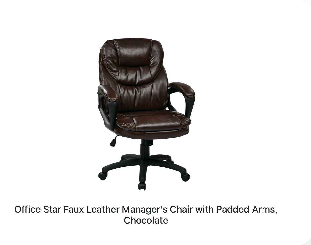 Office Star Ehrl006 Eco Leather