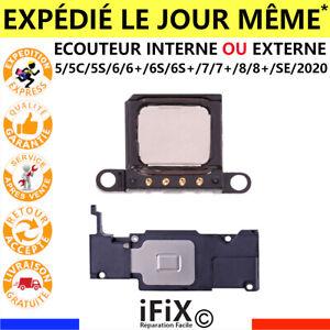 HAUT-PARLEUR-BAS-HAUT-ECOUTEUR-INTERNE-EXTERNE-IPHONE-5-5C-5S-SE-6-6S-7-8-PLUS