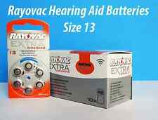 rayovac **size 13 ** EXTRA advanced Hearing Aid Battery Expire 2019