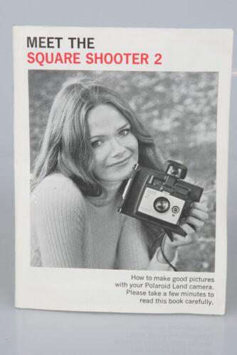 Polaroid Square Shooter 2 Instant Film Camera ORIGINAL INSTRUCTION MANUAL 31 Pgs