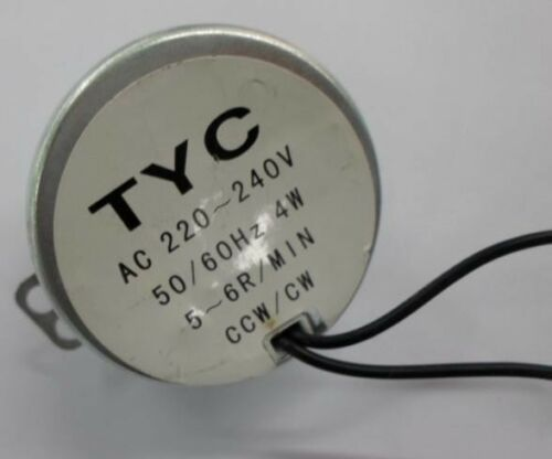 TYC49 reduction gear motor//Micro motor// 220V 5rpm AC geared motor