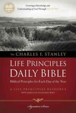 Charles F. Stanley Life Principles Daily Bible by Thomas Nelson Publishing Staff (2011, Paperback)