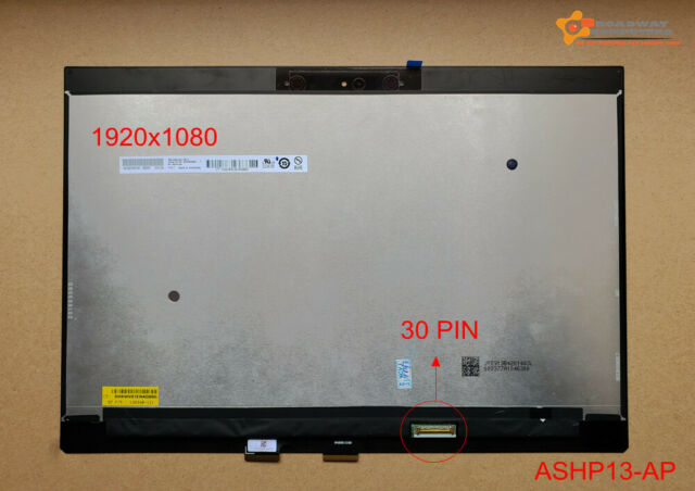 13.3 FHD 30pins LCD Touch Screen Assembly for HP Spectre x360 13-ap 13-ap0005tu