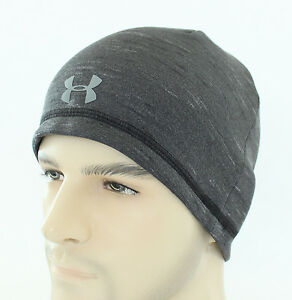 5e7646ac3e6 Under Armour Reactor Elements Beanie Coldgear Hat UA Cap Men s Snow ...