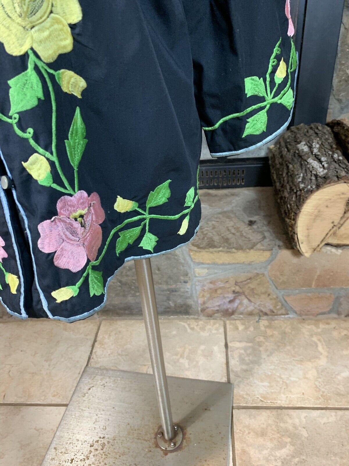Alice John Rogers Jacket Vintage Loungewear Kimon… - image 6