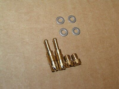 83-85 Honda CB650SC CB650 CB 650 NIGHTHAWK Stage 5  Carburetor JET kit 40 128