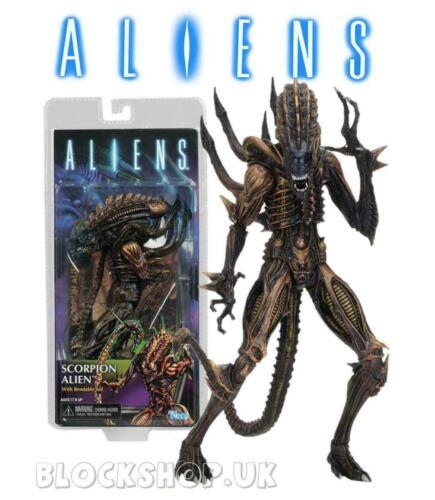 "NECA ALIENS 9/"" SCORPION Warrior Alien Xenomorph AVP PREDATOR Action Figure"