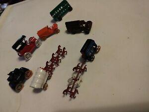 Vintage-Diecast-Metal-Miniature-Toy-Japan-Lot-Of-7