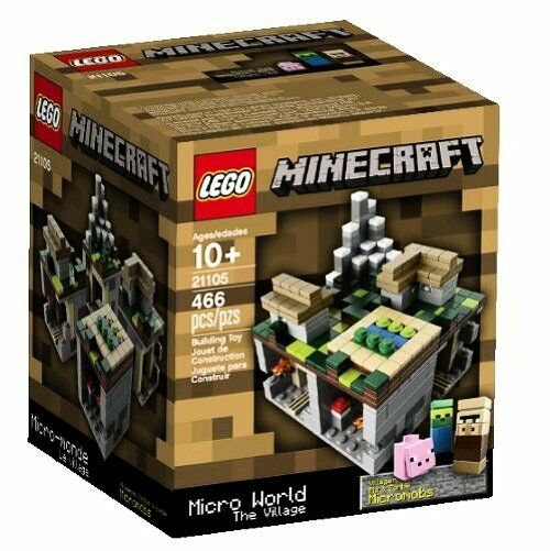 LEGO Minecraft Micro Micro Micro World The Village 21105 (Discontinued by manufacturer) 8f1074