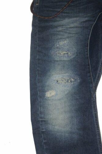 S3 Pantalons Jeans VSCT Clubwear Antifit Bleu Noir DETERIORE w30 l32 30//32