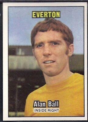 ALAN BALL A/&BC-FOOTBALL ORANGE BACK 001-085 1970-#032- EVERTON