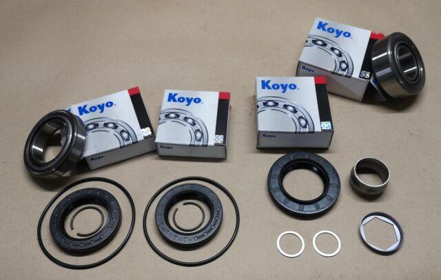BMW medium size final drive case type 188 bearings diff rebuild kit LSD OPEN