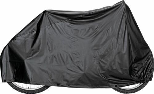 Black. Challenge Heavy Duty Bike PVC Cover