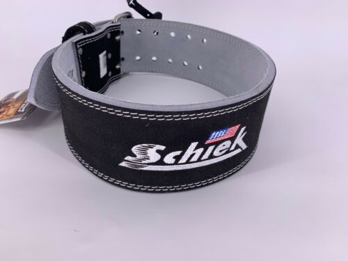 NEW SCHIEK Competition Power Weight Lifting Belt Leather BLACK 6010 SMALL