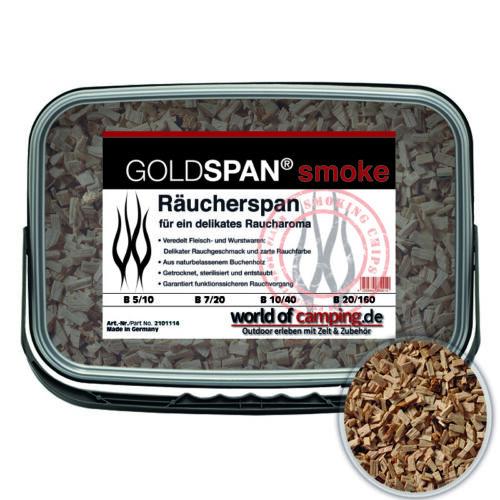 GOLDSPAN smoke Räucherspäne Räuchern Buche Räucherholz Räuchermehl 5,27€//kg